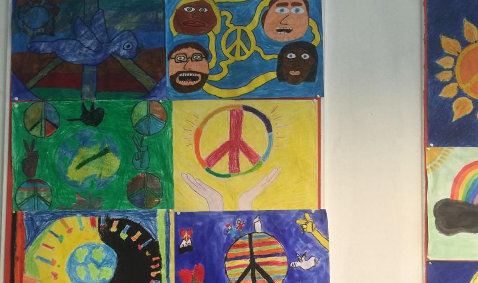 Peaceposter wedstrijd 2016